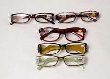 5 Cheetah Readers Fashion Reading Glasses +2.00 New With Tags
