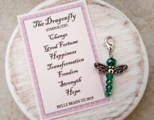 Dragonfly Totem Amulet Charm Talisman Insect Magic Spirit Animal Symbol Luck Joy