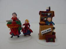 Dept 56 New England Village Christmas Bazaar Woolens & Preserves #56595 Jame