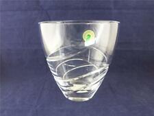 More details for waterford lead crystal ballet ribbon 6 inch pocket vase.