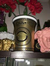 1 VERSACE VASE GOLD MEDUSA ARCADIA FLOWER POT LUXURY ROSENTHAL RARE $600 SALE