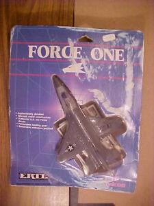 ERTL Die-Cast Force One USAF F-16 Falcon Fighter Jet #1163, 1986 Vintage Sealed