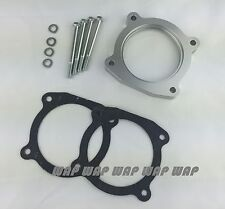 Silver Throttle Body Spacer for 2008-2014 TOYOTA TUNDRA / SEQUOIA 5.7L V8 4.6L