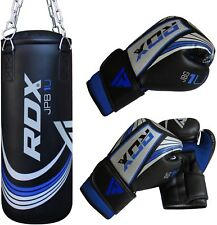 RDX Kids 2FT Unfilled Boxing Punching Bag Set Gloves Chain MMA Training CA