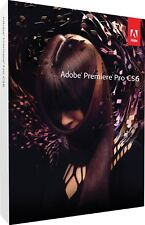 NEW Adobe PREMIERE PRO CS6 for WINDOWS/WIN video editing software MFR # 65172256