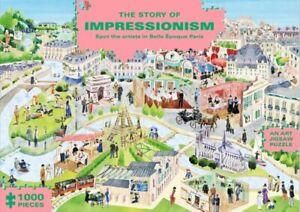 The Story of Impressionism (1000-Piece Art History Jigsaw Puzzl... 9781786273215