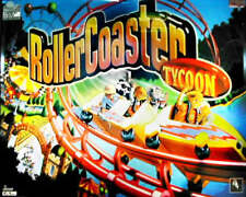 Rollercoaster Tycoon Flipper Gioco LUCE BLU MOD