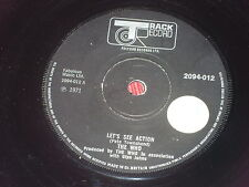 "The Who:  Let's See Action orig rare heavyweight solid centre  7""   EX+"