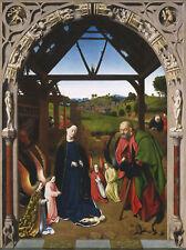 Peinture Petrus Christus la nativité XXL Poster Wall Art Print LLF0385