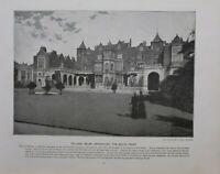1896 London Stampa + Testo Holland Casa Kensington The South Anteriore