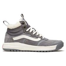 Vans Womens UltraRange Hi DI MTE Boots Sherpa Quiet Shade Grey Suede Size 7