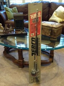 Vintage Zebco 404 Rod And Reel Combo 1545 New Old Stock Dated 1986 in Package