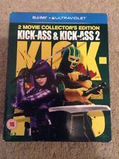 Kickass And Kickass 2 Bluray BoxSet Superhero Graphic Novel Adaptation