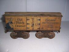 Vintage Bing Miniature Railway System Refrigerator Car Old Dutch Cleanser Cudahy