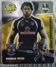 2007 GOLD SERIES  RUGBY LEAGUE TAZO - #43  RUBEN WIKI, NZ WARRIORS