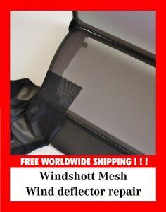 Windshott mesh repair kit Cabrio Convertible Wind deflector BMW Mercedes Audi