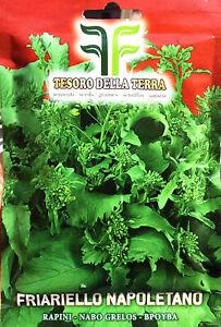 Semi / Seeds FRIARIELLO NAPOLETANO 100gr.