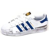 E9566 sneaker unisex customizzate ADIDAS SUPERSTAR scarpe shoe girl boy