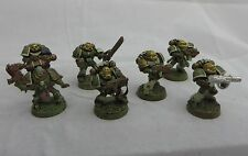 Warhammer  40K  Chaos Marines Nurgle Squad paint army lot converted table ready