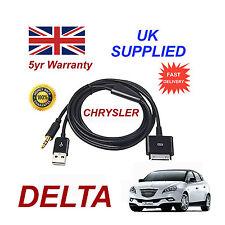 Chrysler Delta Multimédia Adaptateur 71805430 IPHONE IPOD USB & Câble aux en