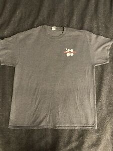 Trader Joe's Employee Hibiscus T-Shirt XL Gray Gildan Heavy Cotton EUC
