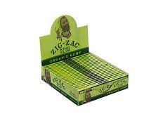 New Zig-Zag Organic Hemp King Size Slim Rolling paper, 24 booklets per box