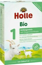 4 Boxes Holle Goat Milk Stage 1 Organic 400g Free Shipping