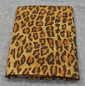 Standard Pillowcase made w Ralph Lauren Venetian Leopard Animal Print Fabric NEW
