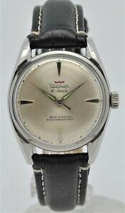 Waltham Dynaflow 41 Jewel automatic gents stainless steel watch