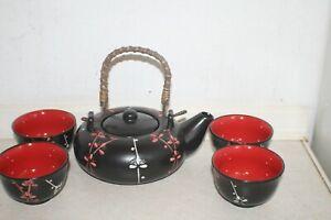 Chinese Blossom Sprig Tea Set, new in presentation box
