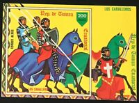 Equatorial Guinea #MiBl294 MNH S/S CVEUR7.00 Knights on Horse