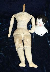 Rare mysterious early china boy doll Meissen ? Dornheim ?