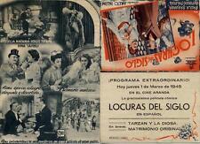 Programa PUBLICITARIO de CINE: LOCURAS del SIGLO.