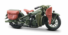 Harley Davidson 1942 WLA Flat Head 1:18 oliv Motorrad Modell die cast model