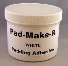 64 ozs White Pad Glue Padding Adhesive Compound Notepads Free Items pads4u