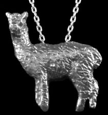 Alpaca Pendant with Chain, Sterling Silver, Custom-Made!  Unique! One Of A Kind!