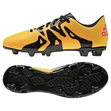 Adidas x 15.3 FG/AG Botas de fútbol sintético niños oro/negro/rosa [s74637]