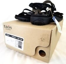Taos Womens Beauty Black Printed Leather Sandals Size US 7 EUR 38 NEW Z385