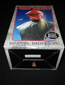 THE RED SKULL MARVEL COMICS MINI-BUST RANDY BOWEN #2939/3000
