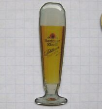 BERLINER KINDL / GLAS / BERLIN  .................... Bier-Pin (119f)