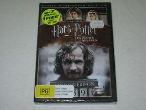 Harry Potter And The Prisoner Of Azkaban - Brand New & New Sealed - Reg 4 - DVD