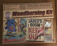 Classic Crafts Woodburning Kit