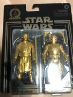Star Wars Commemorative Edition Skywalker Saga GOLD Mace Windu & Jango Fett