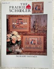 Nursery Rhymes Cross Stitch Graph by The Prairie Schooler