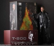 "Hot Crazy Toys T-800 Terminator Battle Damaged version 12"" Action Figure Model"