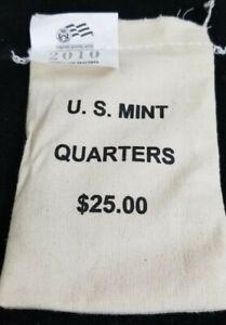 2010-P Yosemite NP US Mint Sealed Bag of Quarters $25 Face Value