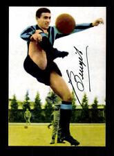 Tarcisio Burgnich Italia vice Weltmeister 1970 FOTO ORIGINALE FIRMATO + a 150309