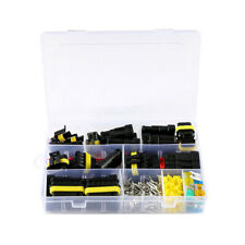 240pcs Waterproof Car Electrical Wire Connector Plug 1-6 Pin Way Blade Fuses