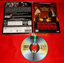 MISSISSIPPI BURNING ( G. Hackman, W. Dafoe) - Dvd Super Jewel Box - USATO - ET