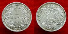 Germany / Empire - 1 Mark 1914 D ~ silver